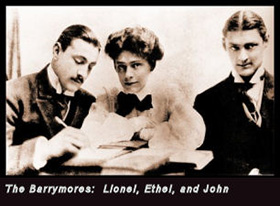 The Royal Family John Ethel Lionel
